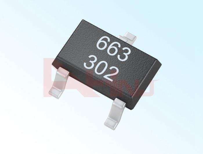 Mikro Güçlü Tüm Kutuplu Hall Sensörü AH3663